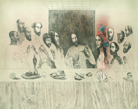 The Last Supper - by Katarina Vavrová