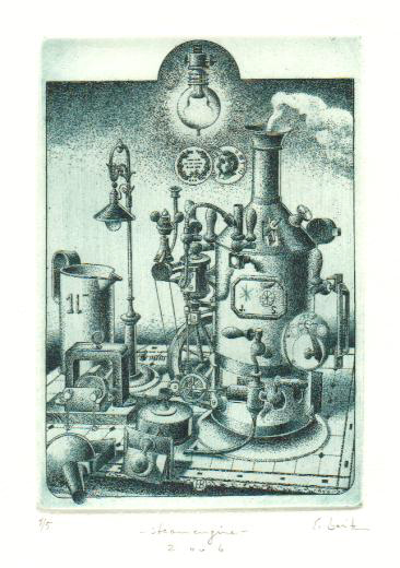 Steam Engine - by Erhard Beitz