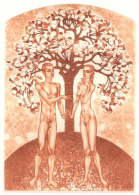 Adam and Eve - by Gennady Vial